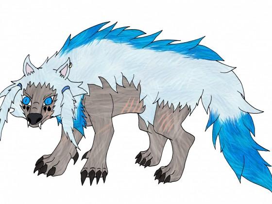 Moonmane Fenrir-Tierform