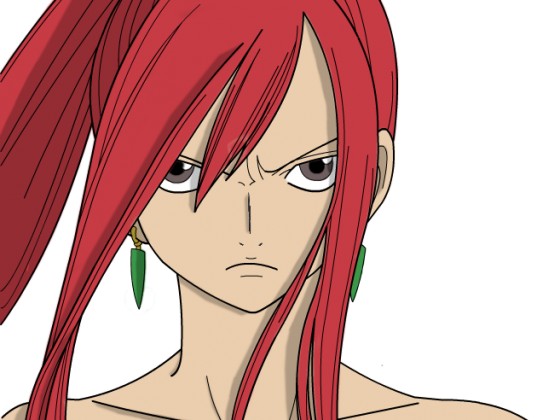 [Coloration] Erza Scarlett