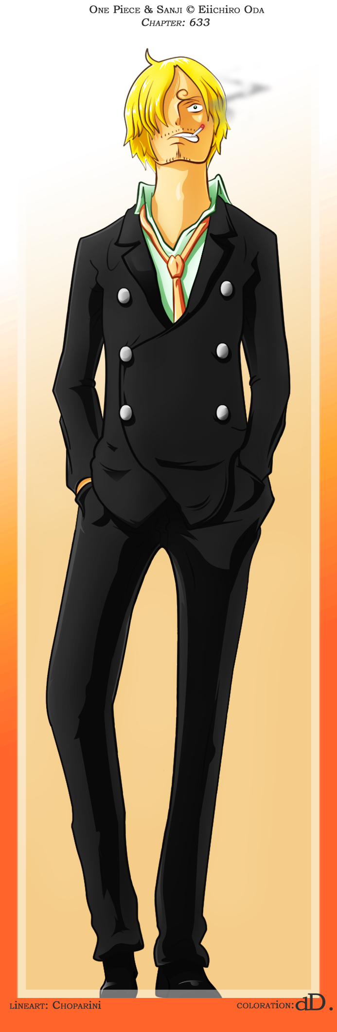 Blackleg Sanji