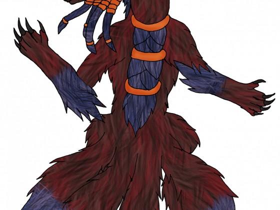 Dogma 4-Schweifige Kitsune-Tierform
