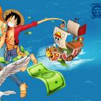 Luffy und Nami - Money Rain