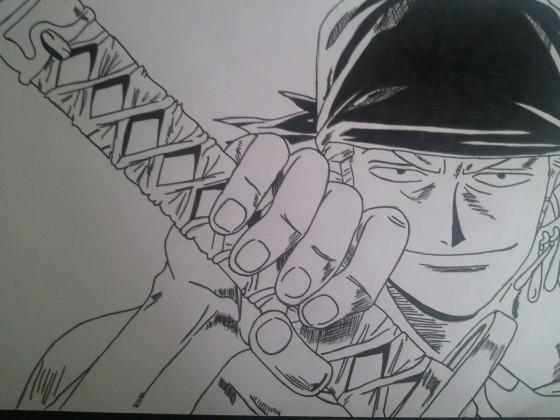Zorro mit Wado-Ichi-Monji :D