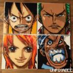 One Piece Crew - Ruffy, Zorro, Nami & Lysop