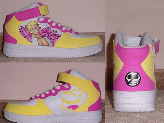 One Piece Schuhe #2: Doflamingo!