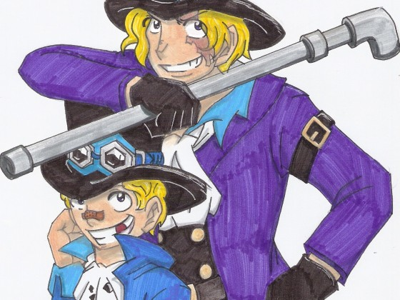 Sabo- old & young!