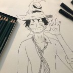 Welcome in Gryffindor, Luffy!