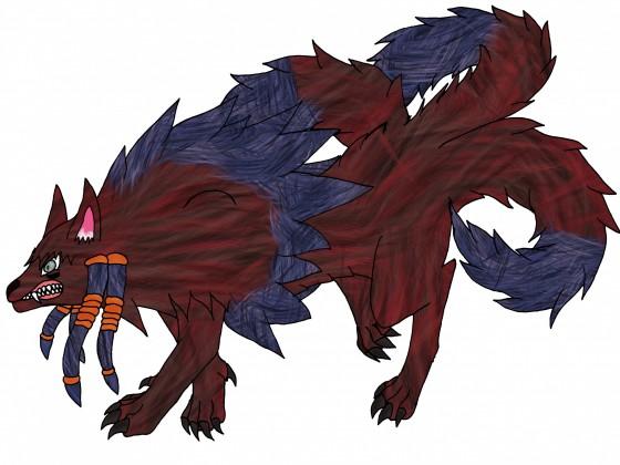 Dogma 3-Schweifige Inugami-Tierform